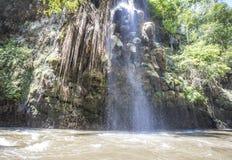 Cascata in Tak Province in Tailandia nordoccidentale Fotografia Stock