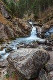 Cascata tedesca - Kuhfluchtwasserfall - vicino alle alpi tedesche mentre autunno Fotografia Stock Libera da Diritti