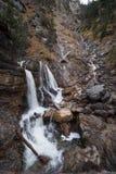 Cascata tedesca - Kuhfluchtwasserfall - vicino alle alpi tedesche mentre autunno Fotografia Stock