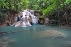 Cascata tropicale Fotografia Stock