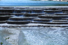 Cascata in valle della luna blu, Lijiang, Cina Fotografia Stock Libera da Diritti