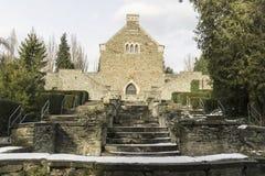 Cascata vazia histórica velha imagem de stock royalty free