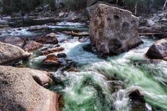Cascata verde Immagini Stock