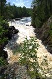 Cascata Vermillion del fiume Fotografia Stock Libera da Diritti