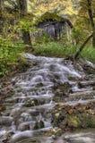 Cascata vicino a Etropole, Bulgaria fotografia stock libera da diritti