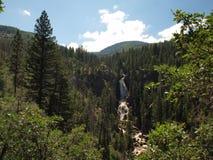 Cascata vicino a Steamboat Springs Fotografia Stock