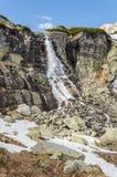 Cascata - Wodospad Skok (vodopad Skok, Skok) Immagine Stock