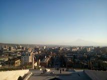 Cascata a Yerevan l'armenia Immagine Stock Libera da Diritti