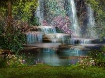 Cascatas Imagens de Stock Royalty Free