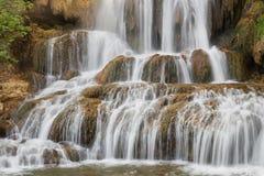 Cascatas da cachoeira na república eslovaca Imagens de Stock Royalty Free