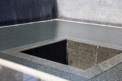 Cascate commemorative nel sito del World Trade Center, New York City Immagine Stock Libera da Diritti