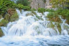 Cascate in Croazia Fotografia Stock