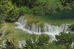 Cascate del fiume di Krka Immagini Stock