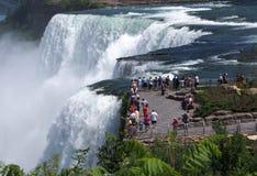 Cascate del Niagara Immagini Stock Libere da Diritti