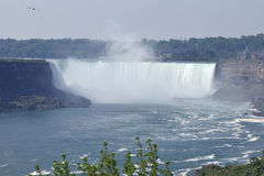 Cascate del Niagara a ferro di cavallo Ontario Canada di caduta Immagine Stock