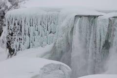 Cascate del Niagara, nell'inverno Fotografia Stock
