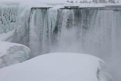 Cascate del Niagara, nell'inverno Fotografie Stock