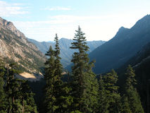 Cascate del nord, Washington Fotografie Stock