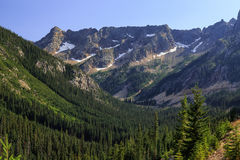 Cascate del nord, Washington immagine stock libera da diritti