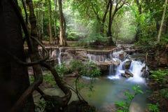 Cascate dell'Asia, Huai Mae Khamin Immagine Stock