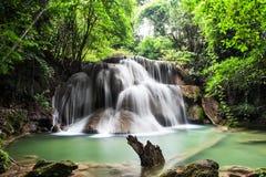 Cascate dell'Asia, Huai Mae Khamin Immagini Stock