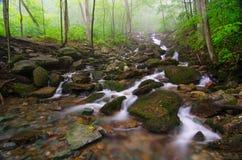 Cascate dell'insenatura di Gap, parco nazionale del Cumberland Gap Fotografie Stock