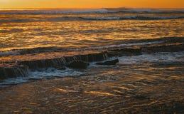Cascate della pozza di marea fotografie stock