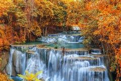 Cascate di autunno fotografie stock libere da diritti