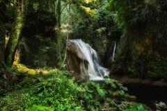 Cascate di Cascata Delle Marmore in Terni Immagine Stock Libera da Diritti