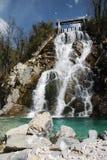 Cascate di Crosis Imagen de archivo