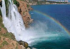 Cascate di Duden - Antalya Immagine Stock