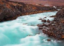 Cascate di Gettifoss, Islanda immagine stock