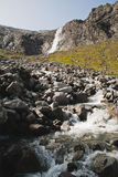 Cascate di Habachtal Fotografia Stock