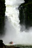 Cascate di Iguacu Immagine Stock