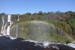 Cascate di Iguassu Immagini Stock Libere da Diritti