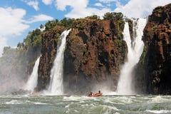 Cascate di Iguassu fotografie stock libere da diritti