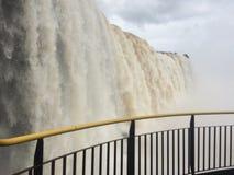 Cascate di Iguazu immagini stock libere da diritti