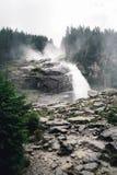 Cascate di Krimml in Austria Immagini Stock