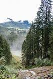 Cascate di Krimml in Austria Fotografie Stock