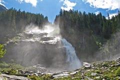 Cascate di Krimml in Austria Fotografia Stock