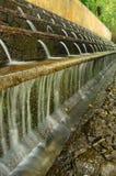 Cascate di Littles al fountaine del parco nazionale fotografia stock