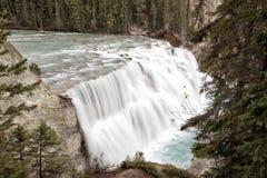 Cascate di Wapta, vicino a dorato, BC, il Canada Fotografia Stock