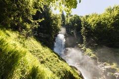 Cascate famose Giessbach nel Bernese Oberland, Svizzera Immagine Stock Libera da Diritti