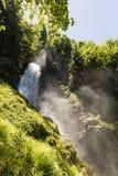 Cascate famose Giessbach nel Bernese Oberland, Svizzera Immagini Stock Libere da Diritti