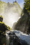 Cascate famose Giessbach nel Bernese Oberland, Svizzera Immagini Stock