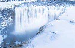 Cascate islandesi Fotografie Stock