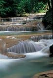 Cascate in Kanchanaburi, Tailandia Immagine Stock Libera da Diritti