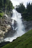 Cascate Krimml in Austria Fotografia Stock