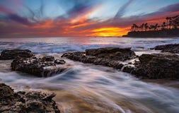Cascate a Laguna Fotografia Stock Libera da Diritti