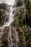 Cascate a Monasterio de Piedra, Saragozza, l'Aragona, Spagna Immagini Stock Libere da Diritti